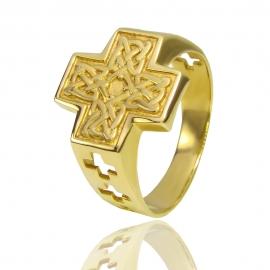 Золотой мужской перстень (К0965)