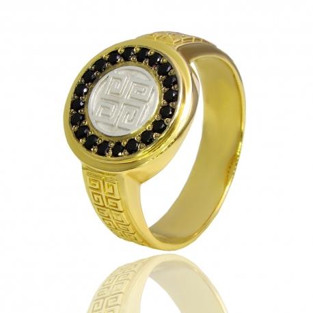 Золотой мужской перстень (К0967)
