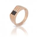 Золотое кольцо с куб. цирконием (К0379)