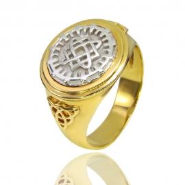 Золотой перстень (К1198)
