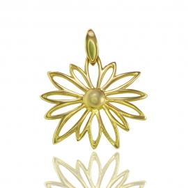 Золотой кулон (П0594)