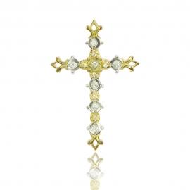 Золотой крестик (П0595)