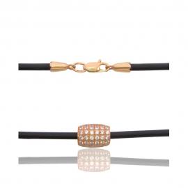 Каучуковый шнурок на шею (КЛ0174)