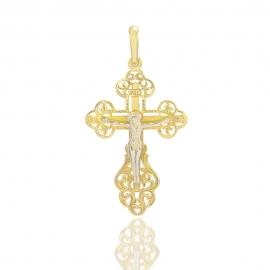 Золотой крестик (П0018)