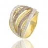 Золотое кольцо с куб. цирконием (К1145)