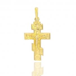 Золотой крестик (П0538)