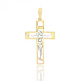 Золотой крестик (П0583)