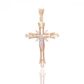 Золотой крестик (П0683)