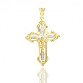 Золотой крестик (П0698)