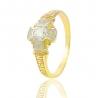 Золотой перстень с куб. цирконием (СК3300)