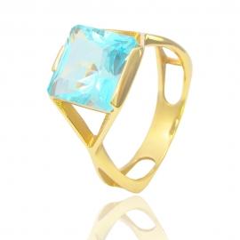 Золотое кольцо с топазом (СК4400)