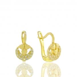 Золоті дитячі сережки (Н5241)