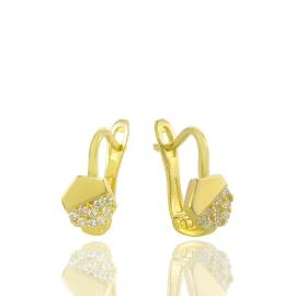 Золоті дитячі сережки (Н5242)
