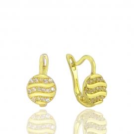 Золоті дитячі сережки (Н5249)