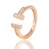 Золотое кольцо с куб. цирконием (Н5581)