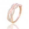 Золотое кольцо с куб. цирконием (Н5584)