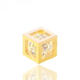 Золотой кулон с куб. цирконием (Н5102)