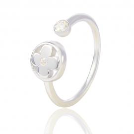 Золотое кольцо с куб. цирконием (Н5106)