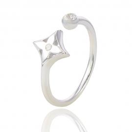 Золотое кольцо с куб. цирконием (Н5107)