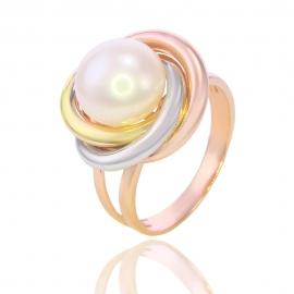 Золотое кольцо с жемчугом (Н5111)