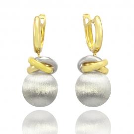 """Золоті сережки """"Кульки"""" (Н6020)"""