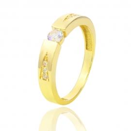 Золота каблучка з куб. цирконієм (Н6050)