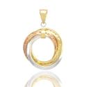 Золотой кулон (Н7004)