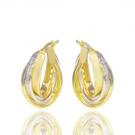 Золотые серьги (Н7021)