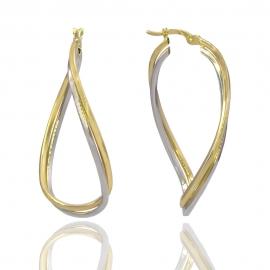 Золотые серьги (Н7016)