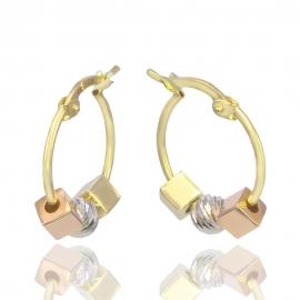 Золотые серьги (Н7019)