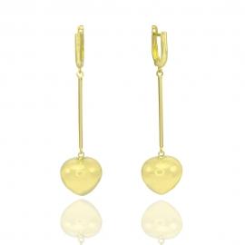 Золотые серьги (Н7015)