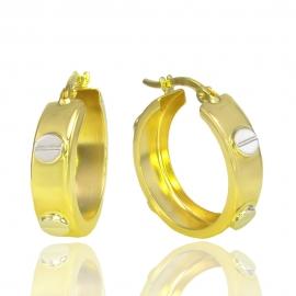 Золотые серьги (Н7032)