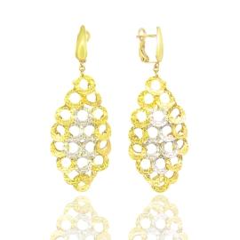 Золоті сережки (55566)