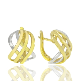 Золоті сережки (34482)