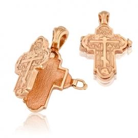 Золотой крестик (П0213)