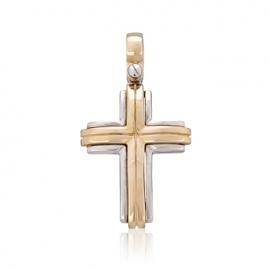 Золотой крестик (П0380)