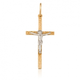 Золотой крестик (П0500)