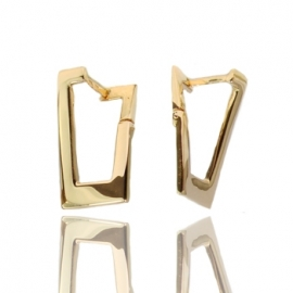 Золотые серьги  (С1018)