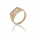 Перстень с куб. цирконием (466)