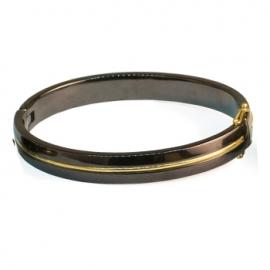 Золотой браслет с керамикой (2100)