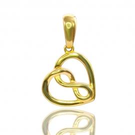 Золотой кулон (П0716)