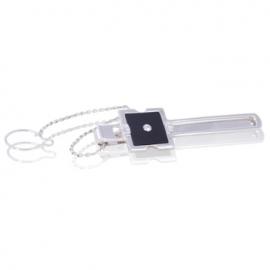 Зажим для галстука с ониксом (ЗЖ0181)