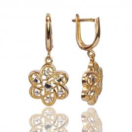 Золотые серьги  (С1071)
