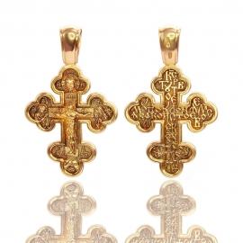 Золотой крестик (П0815)