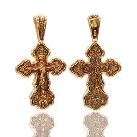Золотой крестик (П0817)