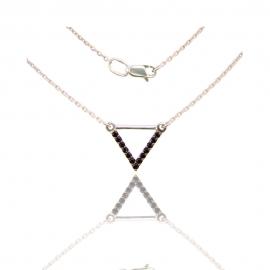 Золотое колье с шпинелью (КЛ0206)