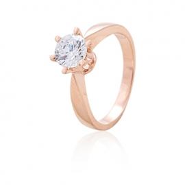 Золотое кольцо с куб. цирконием (К0188)