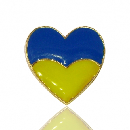 Золотой значек Сердце (З0194)
