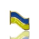 Золотой значек Флаг Украины (З0203)