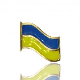 Золотий значок Флаг України (З0203)